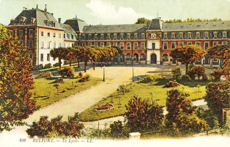 CPA Belfort Lycée Roosevetl 1908-12