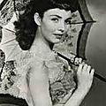 Les femmes celebres les actrices qui les incarnèrent : 2 bernadette soubirous .