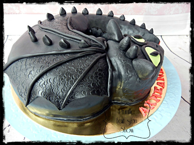 gateau dragon prunillefee 2