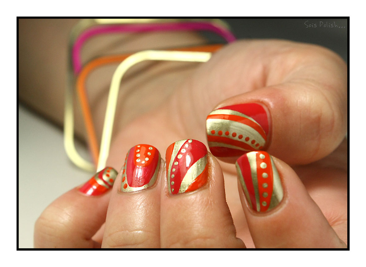 The Sunday Nail Battle #29 - Bollywoooooood