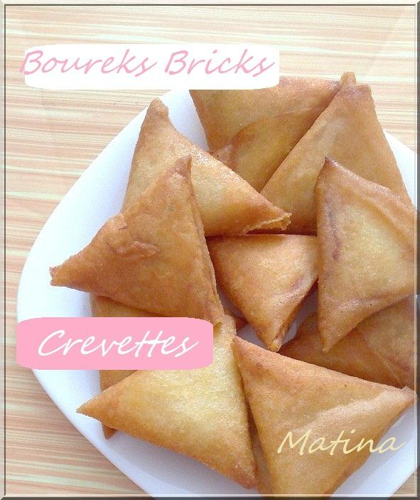 Brick crevettes