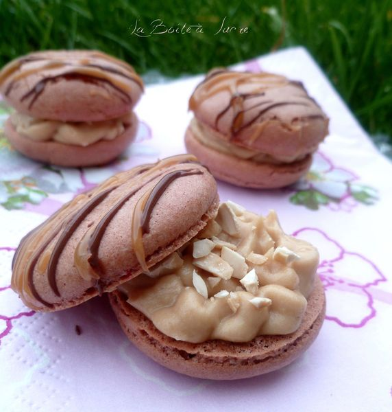 Macarons façon Snickers 2