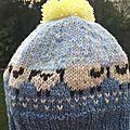 Baa-ble bonnet (x3!)