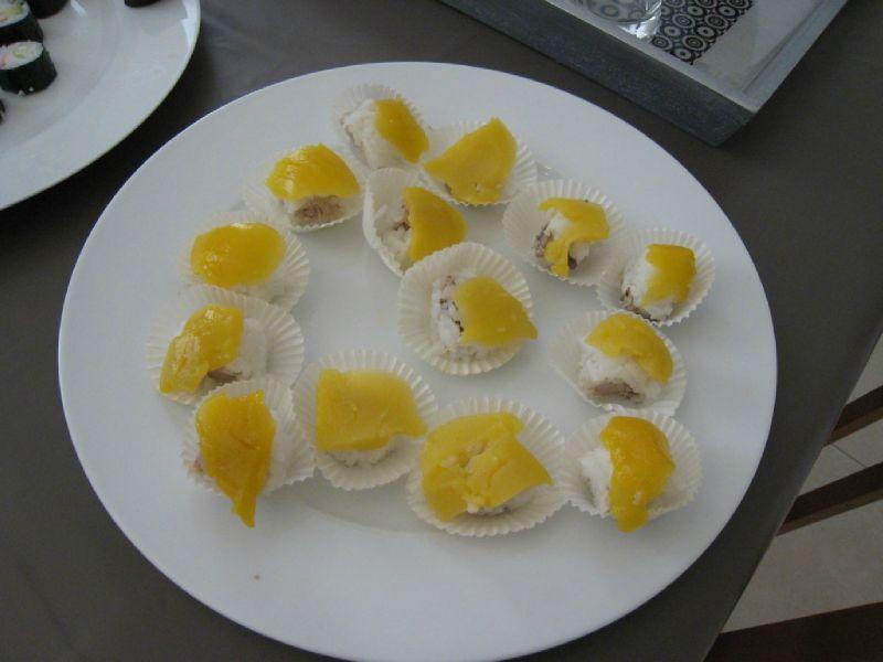 Makis mangue/foie gras