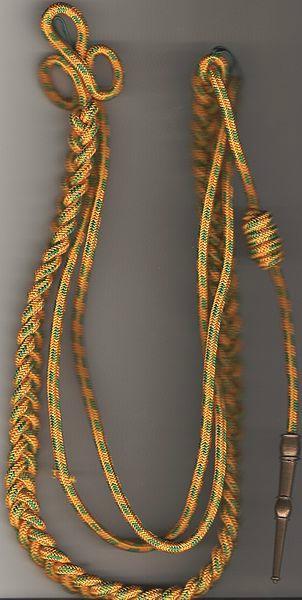 170e RI Fourragère fantoche vendue par le tailleur du rgt