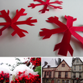 Flocons de neige en papier : prochaine fiche créative