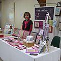Le stand de Carole Paynat (PIC ET PIC ET PETITS POINTS)