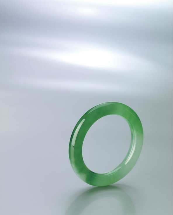 Fine and Important Jadeite Bangle