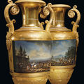 The most important pair of russian vases to appear on the market this autumn