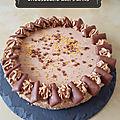 Cheesecake aux daims