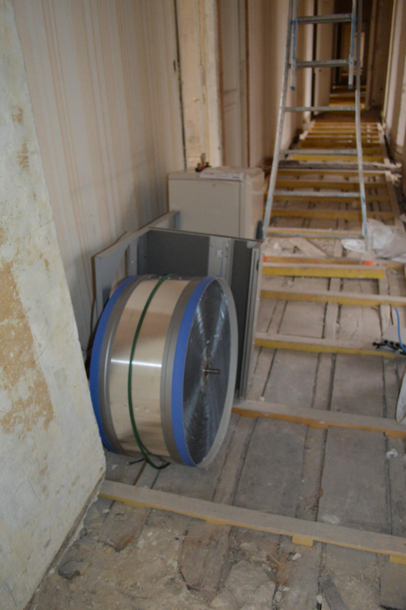 ventilation m canique control e r novation du mus e de l 39 ordre de la lib ration. Black Bedroom Furniture Sets. Home Design Ideas