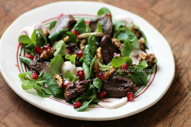 salade de coeurs d'oie