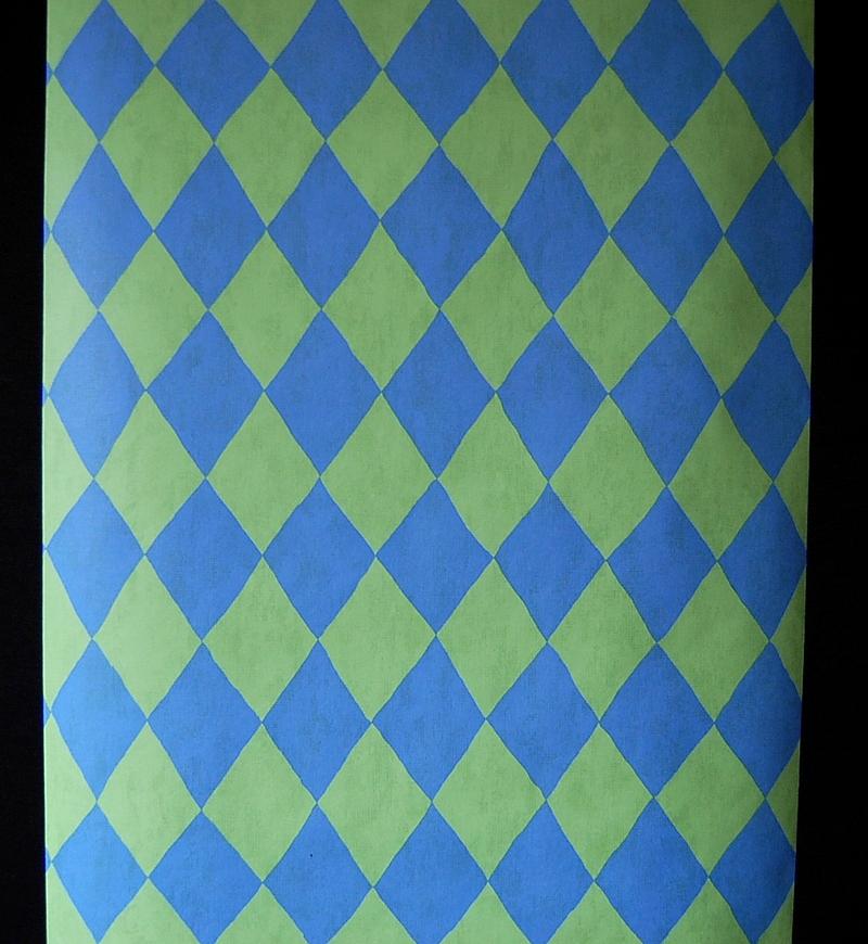 04 papier peint damiers vintage