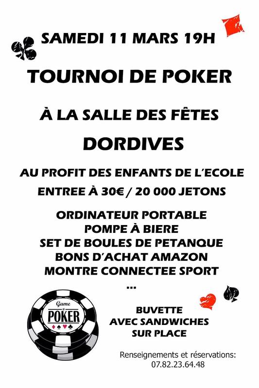 Tournoi de poker oise