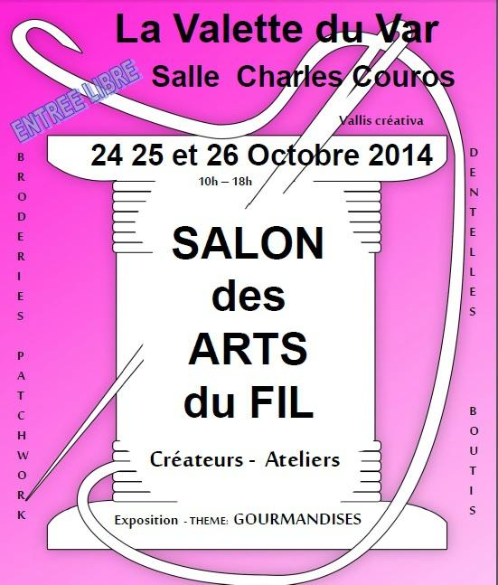 salon arts du fil octobre 2014 la valette