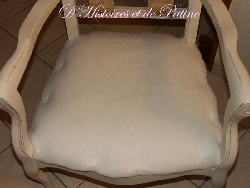mousse pour assise de chaise