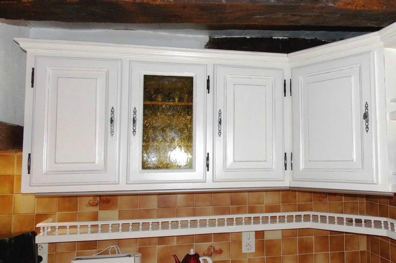 Patine d 39 une cuisine rustique assier kr ative d co for Relooker meuble rustique