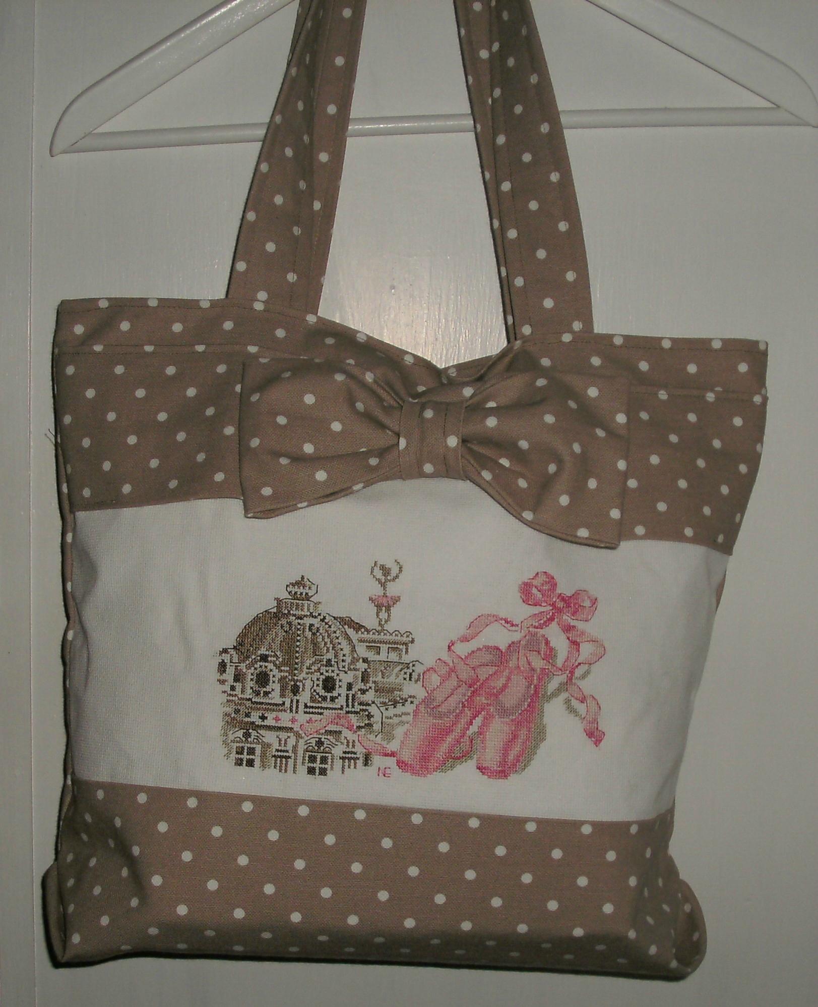 Sophie ou le sac d'une petite ballerine en herbe