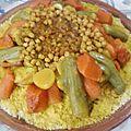 Le couscous marocain grosse