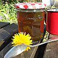 recette gelee pissenlit dandelion jelly recipe