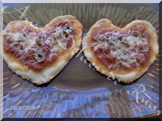 Mes minis pizzas et roulés à la viande