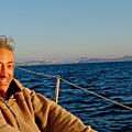 L'expédition tour des deux amériques solidaire en voilier présentée devant santorin, 25 décembre 2017