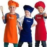 tablier cuisine enfant olivia