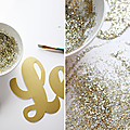 Slection Nol {DIY}  paillettes, blanc, dor, kraft, fluo?