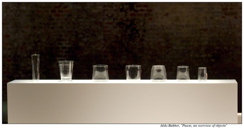 Aldo Bakker; Pause, an overview of objects