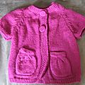Réalisation de boutons tricotés...