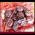 Mini fondants très chocolatés de cécile