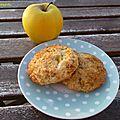 Biscuits aux pommes épicés