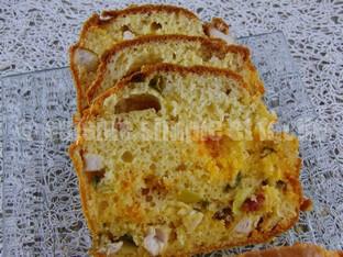 cake poivron chorizo poulet 06