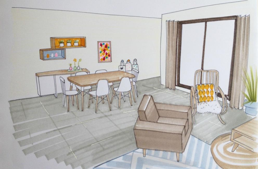 une pi ce vivre dans les landes coach deco lille. Black Bedroom Furniture Sets. Home Design Ideas