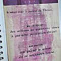 Cahier de citations