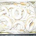 Vanille kipferl - petits sables de noel aux amandes et vanille