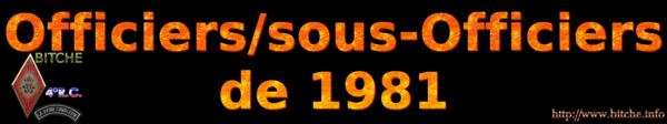 OFFICIERS sous OFFICIERS de BITCHE 1981a