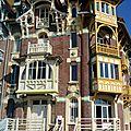 Mers-Les-Bains, façades