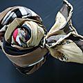 Très longs foulards en pure soie style vintage - modèle unique - lanvin, givenchy, esprit....