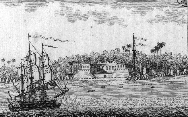 Saint-Louis vue sur la Mer 1814