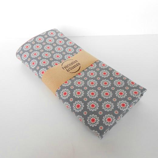 Pochette lingerie fleur coeur rose2