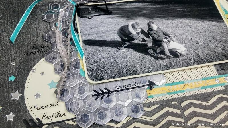 Page de scrapbooking - Katia Nésiris1