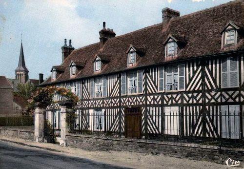 Route de Lisieux : maison normande