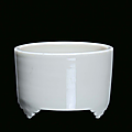 A blanc de chine porcelain cylindrical censer, china, dehua, qing dynasty, end 17th century