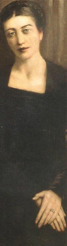 Portrait de Mme B 1938 détail E