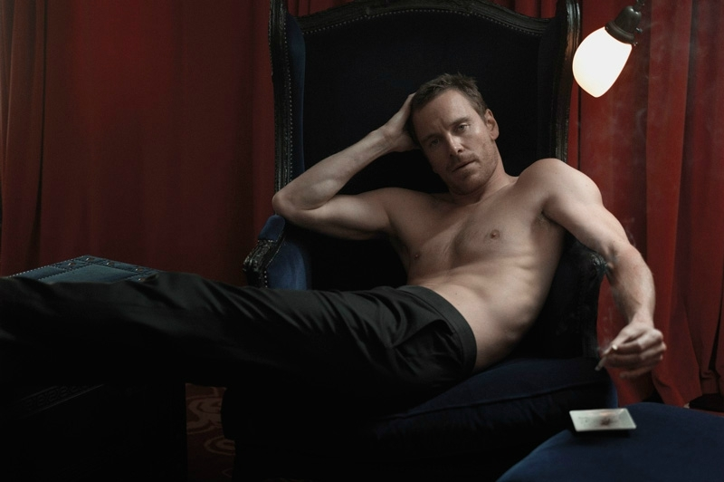 Michael Fassbender pour un Photoshoot ultrahot.