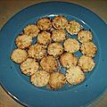 Mini tartelettes de crumbles de pommes
