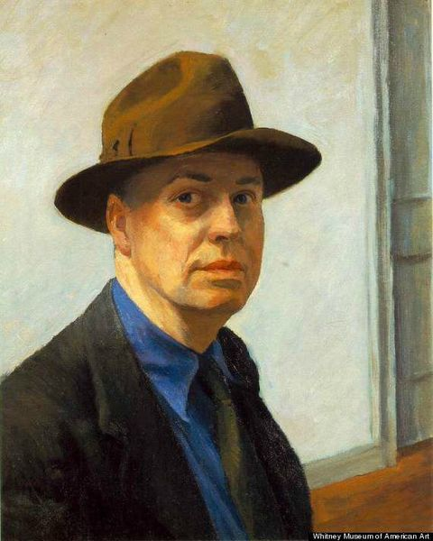 EDWARD-HOPPER Selfpotrait