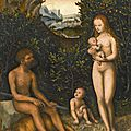 Lucas cranach the elder (kronach 1472 - 1553 weimar), the faun family