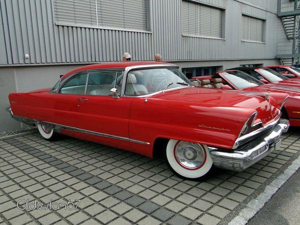 lincoln premiere hardtop coupe 1956 b